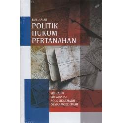 Buku Ajar Politik Hukum Pertanahan